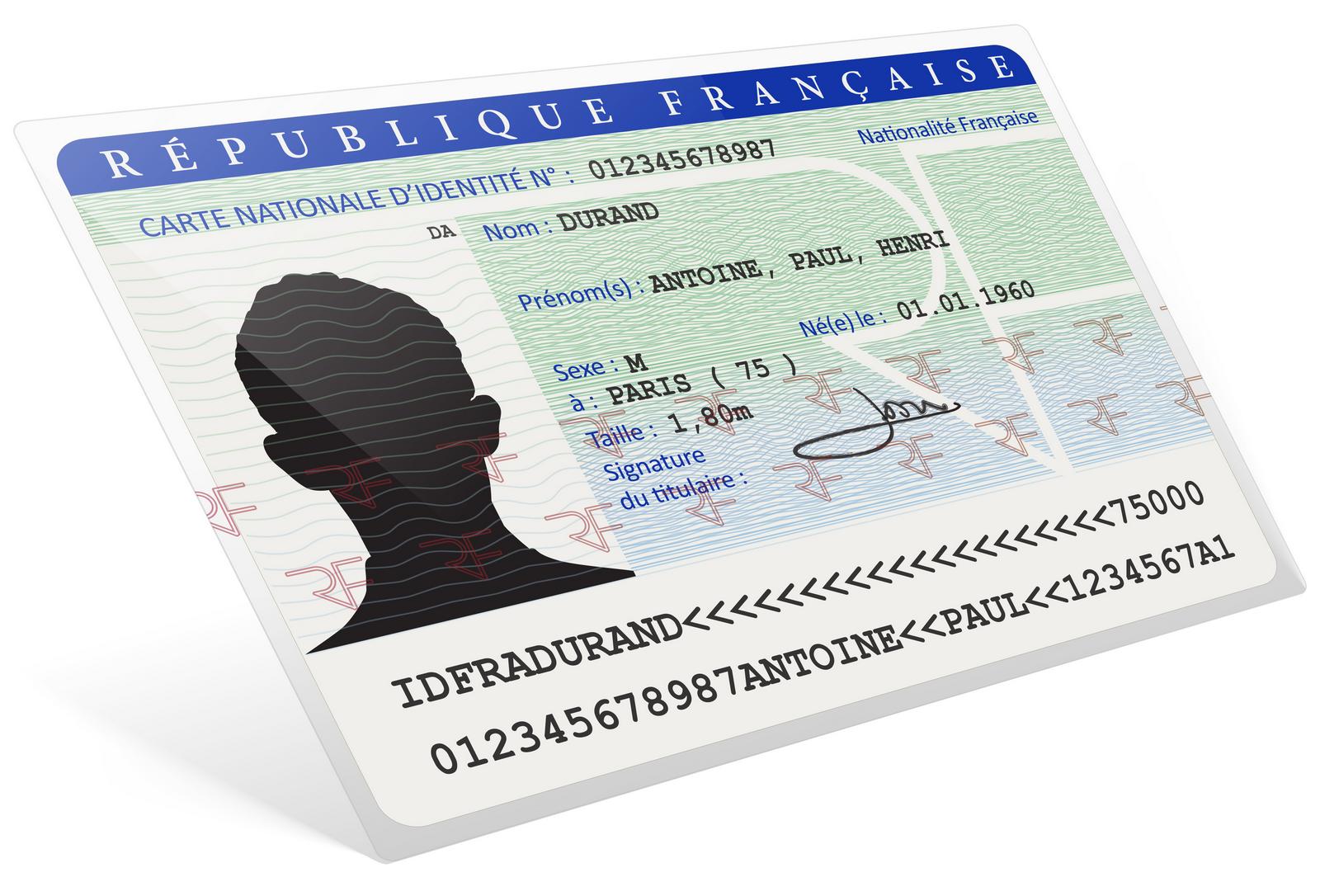 demande carte d identité Demande de carte nationale d'identité