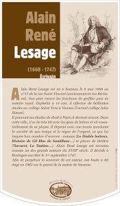Alain René LESAGE