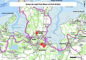 Zones_de_repli_Porh_Brillac_et_Prat_Bihan_IGN
