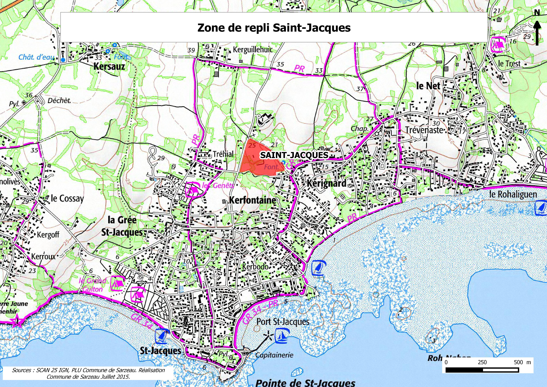 Repli du camping caravaning sur parcelles privatives - Port saint jacques morbihan ...